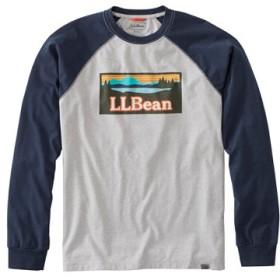 メンズ・ビーンズ・パフォーマンス・グラフィック・ティ、長袖/Men's Bean's Performance Graphic Tee Long-Sleeve