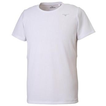 MIZUNO SHOP [ミズノ公式オンラインショップ] ドライエアロフローTシャツ[メンズ] 01 ホワイト 32MA9021