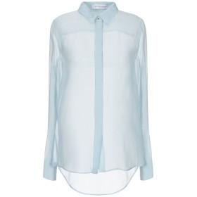 《セール開催中》VIKTOR & ROLF レディース シャツ スカイブルー 40 紡績繊維