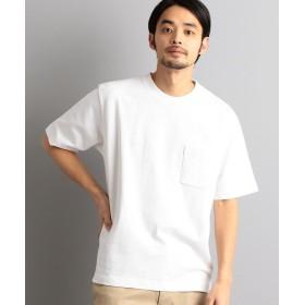 【30%OFF】 グリーンレーベルリラクシング SC ヘビーウェイト クルー 半袖 Tシャツ メンズ WHITE XL 【green label relaxing】 【セール開催中】