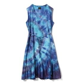 NEEDLES / 別注 Tiedye Dress● レディース ワンピース BLUE ONE SIZE