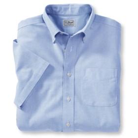 リンクル・フリー(形態安定)・クラシック・オックスフォード・クロス・シャツ、トラディショナル・フィット 半袖/Wrinkle-Free Classic Oxford Cloth Shirt Traditional Fit Short-Sleeve