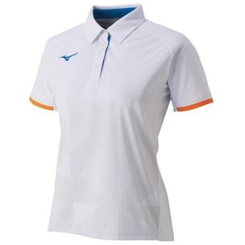 MIZUNO SHOP [ミズノ公式オンラインショップ] ゲームシャツ(ラケットスポーツ)[レディース] 01 ホワイト 62JA9218