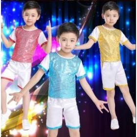 2点送料無料  男の子 子供 演出服 キッズ ダンス衣装 学園祭文化祭 ダンス衣装