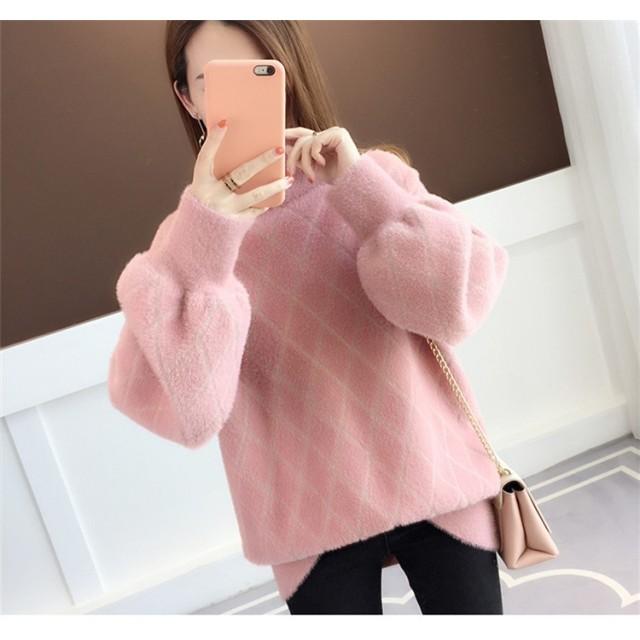 送料無料 追加 限定発売 高品質で 正規品 韓国ファッション/大人気/CHIC気質/暖かい/厚手/ニットトップス/セーター