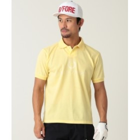 FRED PERRY × BEAMS GOLF / 別注 90S BIG ポロシャツ メンズ ポロシャツ YELLOW M