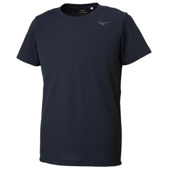 MIZUNO SHOP [ミズノ公式オンラインショップ] ドライエアロフローTシャツ[メンズ] 09 ブラック 32MA9021