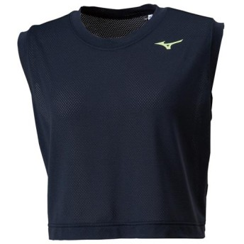 MIZUNO SHOP [ミズノ公式オンラインショップ] スリーブレスショートTシャツ[レディース] 09 ブラック 32MA9317