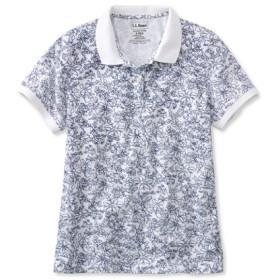 プレミアム・ダブル・エル・ポロシャツ、リラックス・フィット 半袖 フローラル/Premium Double L Polo Shirt Relaxed Fit Short-Sleeve Floral