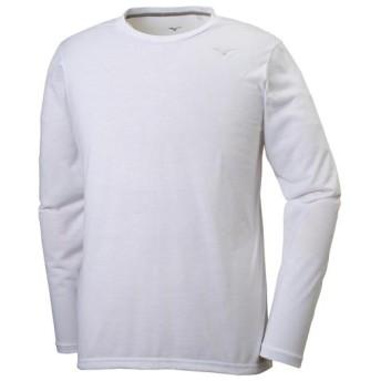 MIZUNO SHOP [ミズノ公式オンラインショップ] ロングスリーブTシャツ[メンズ] 01 ホワイト 32MA9053