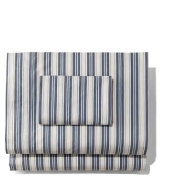 サンウォッシュ・パーケール・シーツ・コレクション、ストライプ/Sunwashed Percale Sheet Collection Stripe