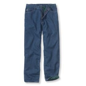 メンズ・ダブル・エル・ジーンズ、リラックス・フィット フリースの裏地付き/Men's Double L Jeans Relaxed-Fit Fleece-Lined