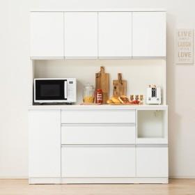 食器棚(レジューム 150TF-H WH/150SL-R WH) ニトリ 『配送員設置』 『5年保証』