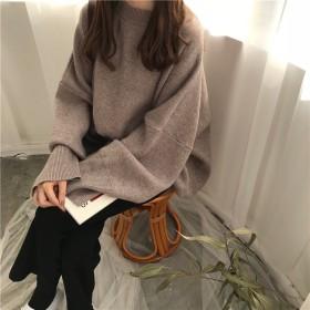 ニット セーター ニット レディース 大きいサイズ オーバーサイズ セーター トップス 長袖 秋新作 秋服