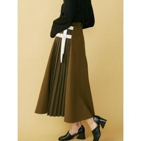 フレアスカート - MURUA サイドベルトフレアマキシスカート