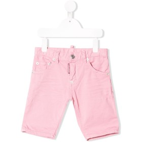 Dsquared2 Kids デニムショートパンツ - ピンク