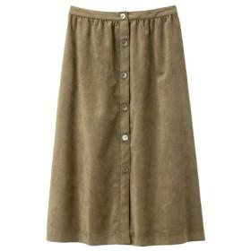 ROPÉ ÉTERNEL ウルトラスェード フロントボタンスカート
