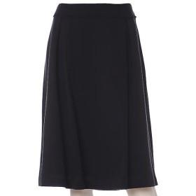 ef-de L / エフデ(エルサイズ) 《大きいサイズ》ポイントレースフレアスカート