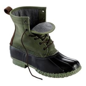 メンズ・エル・エル・ビーン・ブーツ、8インチ レザー シャミーの裏地付き リミテッド・エディション/Men's Small Batch L.L.Bean Boots 8 Leather Chamois Lined