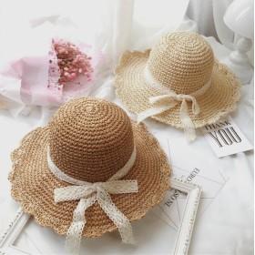 春夏新作☆麦わら帽子 折りたたみ レディース 大きいサイズ 夏 春 UV 日焼け ハット つば広 オシャレ 柔らかい 軽い 日焼け防止 小顔 可愛い かわいい