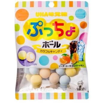UHA味覚糖 ぷっちょボール カラフルアソート 60g