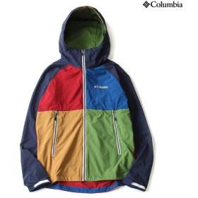 (セール)Columbia(コロンビア)トレッキング アウトドア 薄手ジャケット フロックスジャケット PM3179-465 メンズ COLLEGIATE NAVY MULTI