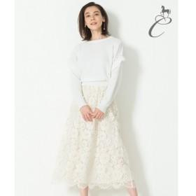 自由区 / ジユウク 【Class Lounge】CAMELLIA LACE スカート
