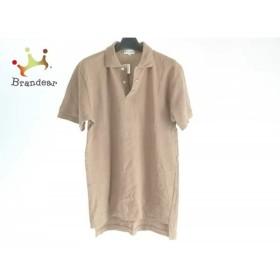 ポールスミス PaulSmith 半袖ポロシャツ サイズL メンズ ライトブラウン   スペシャル特価 20190712