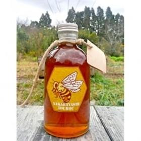 勝浦産 非加熱の生ハチミツ(430g)ハチミツスプーン付き