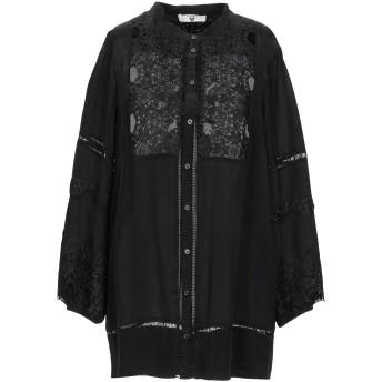 《期間限定セール開催中!》TWINSET レディース シャツ ブラック XS レーヨン 100% / ポリエステル