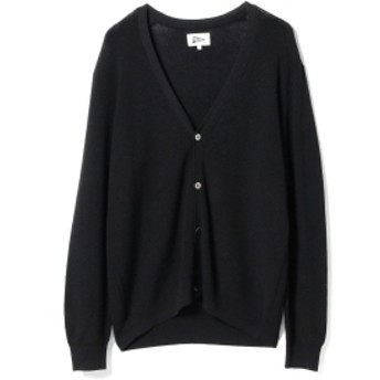 Pilgrim Surf+Supply Pilgrim Surf+Supply / Flip Linen Blend Cardigan メンズ ニット・セーター BLACK XS