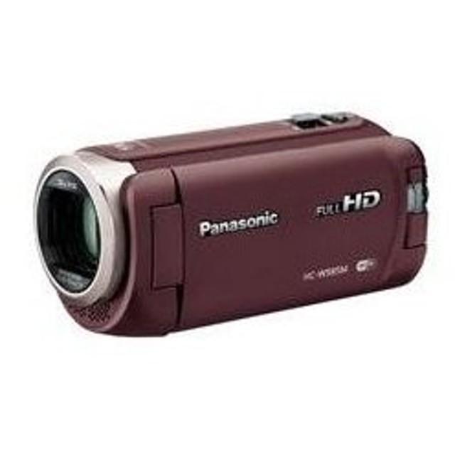 Panasonic デジタルハイビジョンビデオカメラ HC-W585M-T  ブラウン 内蔵メモリー 64GB  (送料無料)