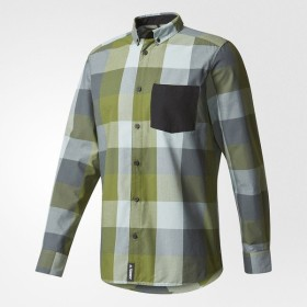 (送料無料)adidas(アディダス)トレッキング アウトドア 長袖Tシャツ CLIMB THE CITY SHIRT BWG21 AZ2217 メンズ クラフトグリーン F16