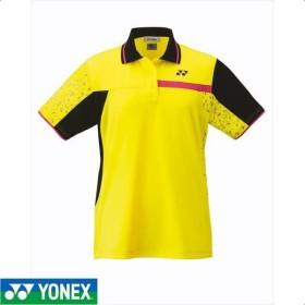 [YONEX]ヨネックス レディーステニスウェア ゲームシャツ (20486)(279) ライトイエロー[取寄商品]