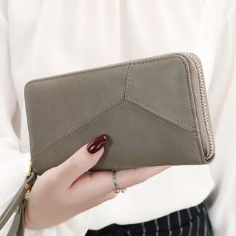レディースファッション長財布/菱格/ロングウォレット/カート入れ小銭入れ/かばん