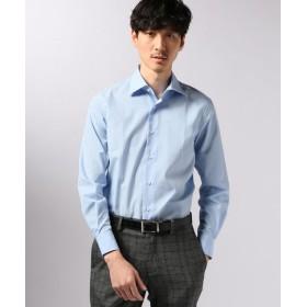EDIFICE セミワイド ポプリンシャツ ブルー A 38