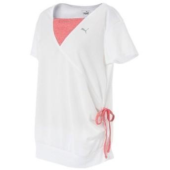 (セール)PUMA(プーマ)レディーススポーツウェア ワークアウトTシャツ TOPS SS TEE 92019106 レディース ホワイト