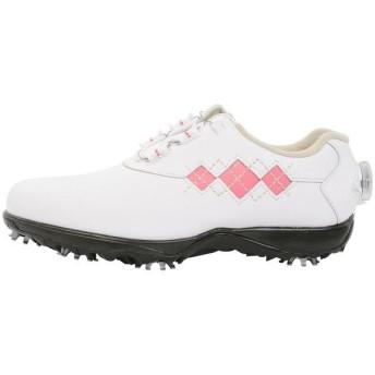 (セール)(送料無料)FOOTJOY(フットジョイ)ゴルフ レディースゴルフシューズ 16Eコンフォートボア WT/PI 98531 レディース WHT/PNK