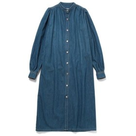 ADAM ET ROPE' / アダム エ ロペ 【GANNI 】Kress Soft Denim Dress (ワンピース)