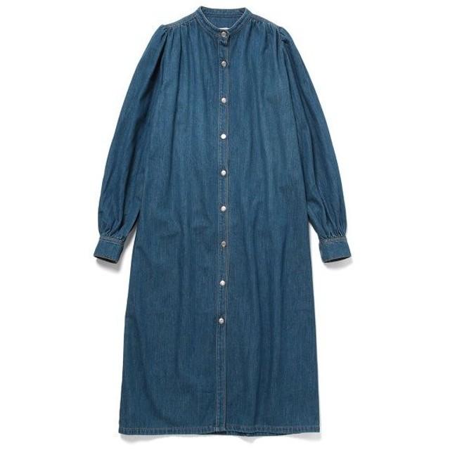 ADAM ET ROPE' / アダム エ ロペ 【GANNI 】Kress Soft Denim Dress (ワンピース)