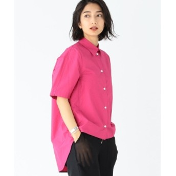 CINOH / コットン ショートスリーブ シャツ レディース カジュアルシャツ PINK 38