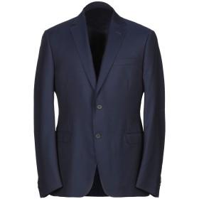 《期間限定セール中》ZZEGNA メンズ テーラードジャケット ブルー 54 ウール 100%