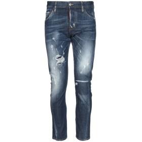 《期間限定セール開催中!》DSQUARED2 メンズ ジーンズ ブルー 44 コットン 98% / ポリウレタン 2% / 牛革