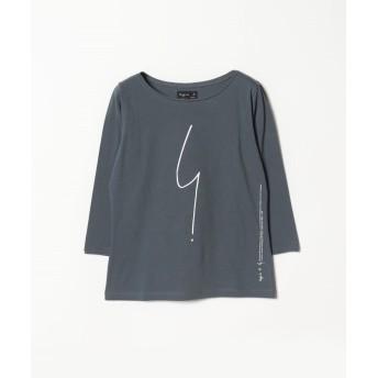 agnes b. アニエスベー SE30 TS Tシャツ 七分袖 レディース