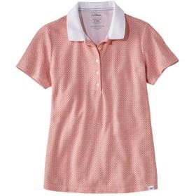 プレミアム・ダブル・エル・ポロシャツ、半袖 プリント/Premium Double L Shaped Polo Shirt Short-Sleeve Print