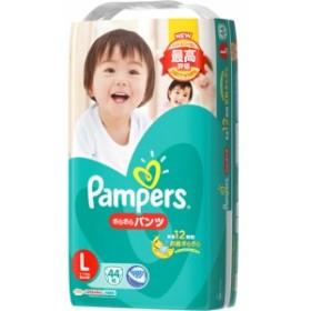 パンパース さらさらパンツ スーパ-ジャンボ Lサイズ : P&G