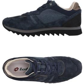 《セール開催中》LOTTO LEGGENDA メンズ スニーカー&テニスシューズ(ローカット) ブルーグレー 42 革 / 紡績繊維