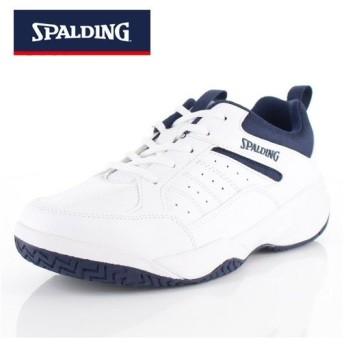 メンズ スニーカー スポルディング SPALDING CS-353 CIS-3530 白 ネイビー コートシューズ 靴 4E