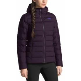 (取寄)ノースフェイス レディース ストレッチ ダウン フーデッド ジャケット The North Face Women Stretch Down Hooded Jacket Galaxy