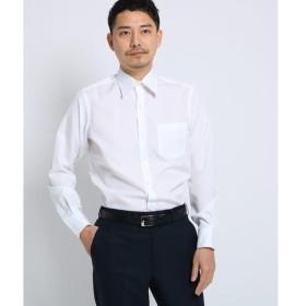 TAKEO KIKUCHI / タケオキクチ 100/2ブロードシャツ[ メンズ シャツ ワイシャツ 形態安定 無地 白 ]